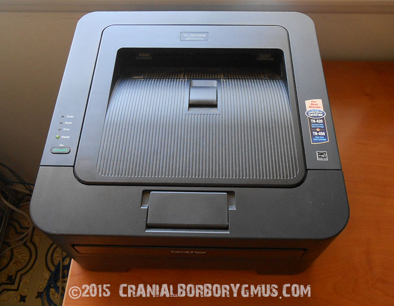 my Brother HL 2270DW laser printer