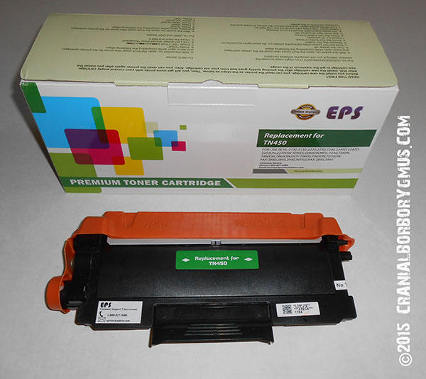 much cheaper EPS TN450-compatible toner